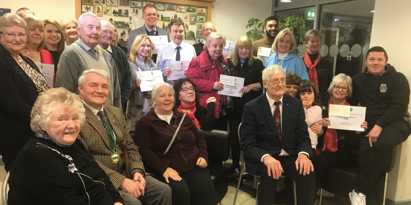 Hednesford community groups share almost £5,000 in grants